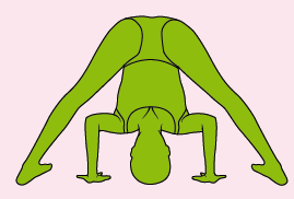forwards bends  yoga happy families
